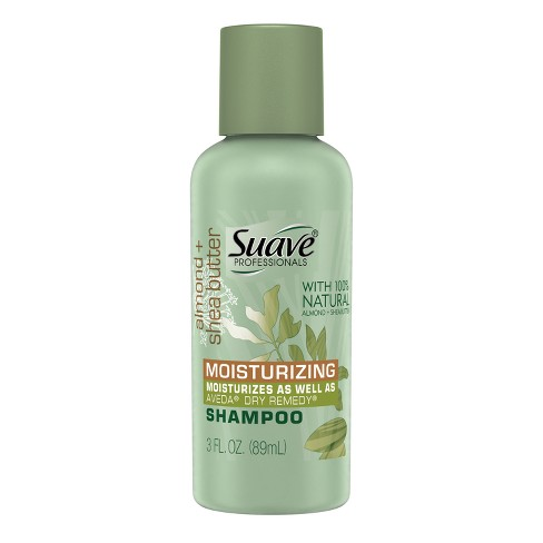 Suave Professionals With Almond & Shea Butter Moisturizing Shampoo -Travel Size - 3 fl oz - image 1 of 2