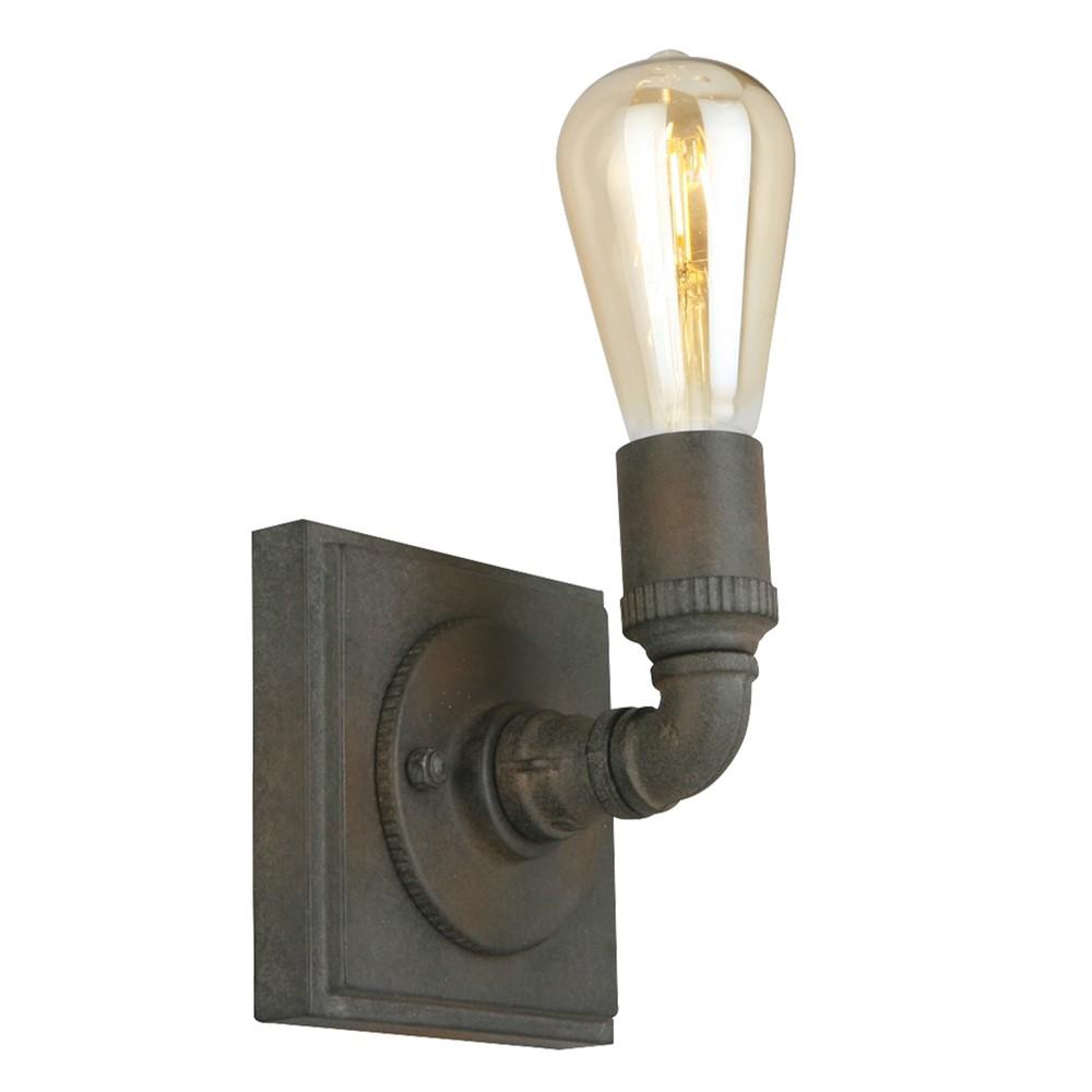 Image of Wymer 1 Light Sconce Dark Brown - EGLO