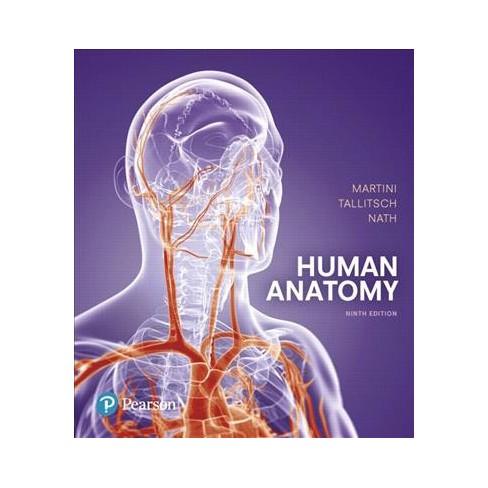 Human Anatomy Hardcover Ph D Frederic H Martini Phd Robert
