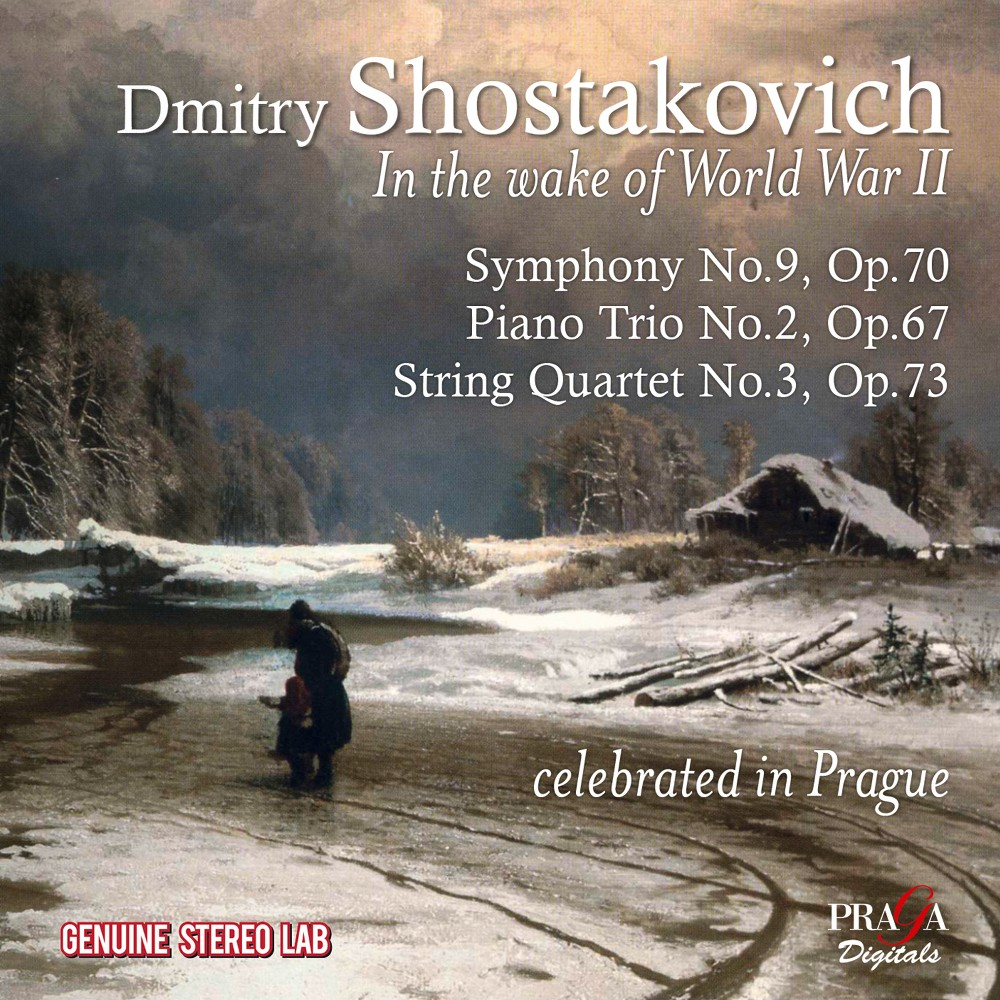 Trio Oistrakh - Shostakovich:In The Wake Of World War (CD)