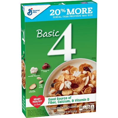 Basic 4 Breakfast Cereal 19.8oz - General Mills