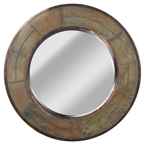 Round Decorative Wall Mirror - Kenroy Home - image 1 of 2