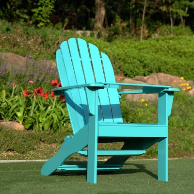 Alston Adirondack Chair with Free Tray Table Blue - Cambridge Casual