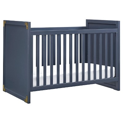 Baby Relax Georgia Campaign Crib - Blue