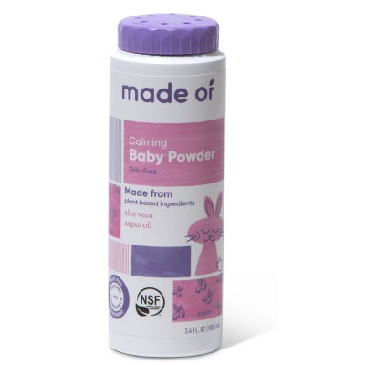 MADE OF Organic Baby Powder Talc Free - 3.4oz