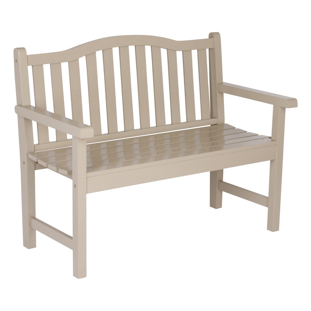 "Image of ""43.25"""" Belfort Garden Bench Gray - Shine Company Inc."""