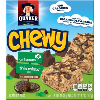 Granola & Protein Bars: Quaker Chewy Girl Scouts