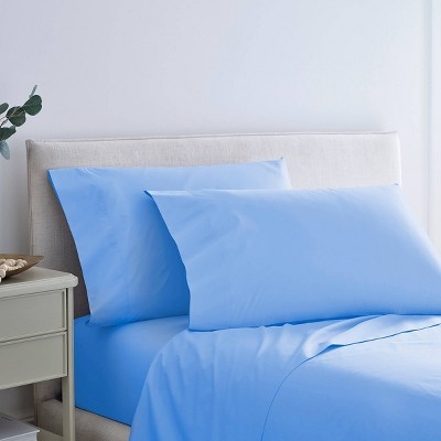 300 Thread Count Solid Sheet Set with SILVERbac Antimicrobial Technology - Martex