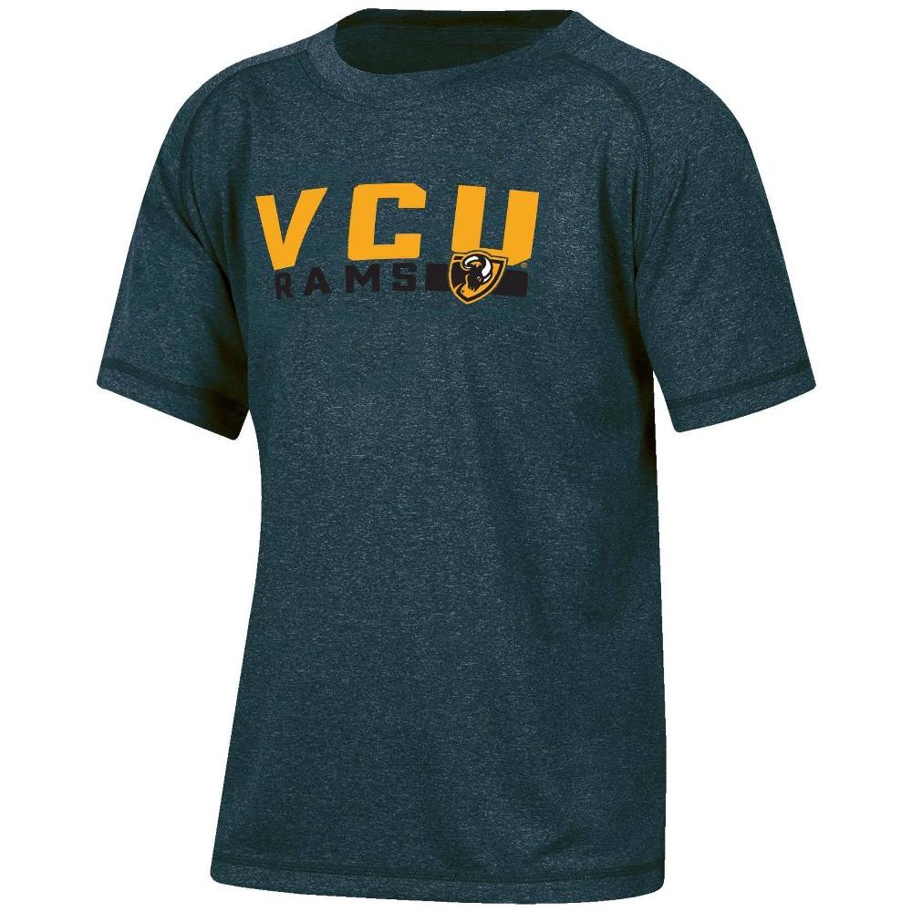 Ncaa Vcu Rams Boys 39 Short Sleeve Gray T Shirt Xs