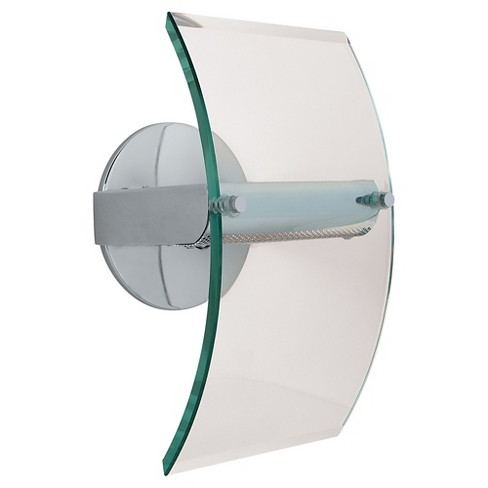Phoebe Wall Sconce with Clear Glass Shade - Chrome - image 1 of 1