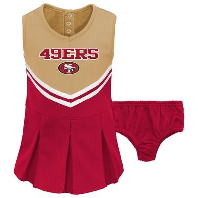 NFL San Francisco 49ers Toddler Girls' Cheer Set