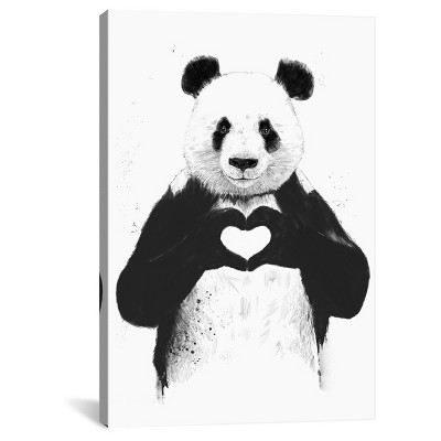 All You Need Is Love by Balazs Solti Canvas Print
