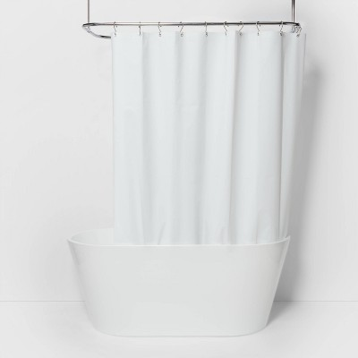 71 x71  Solid Shower Liner White - Made By Design™