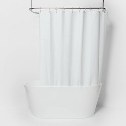 "71""x71"" Solid Shower Liner - Made By Design™"