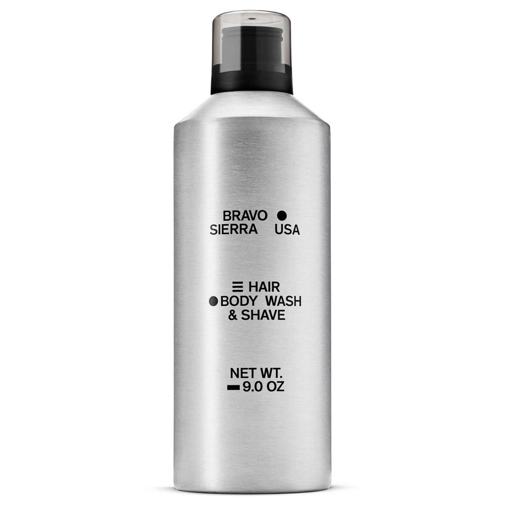 Bravo Sierra Hair Shave 38 Body Wash 9 Oz