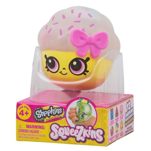 Shopkins Sqeezkins - Cupcake Queen - image 1 of 7
