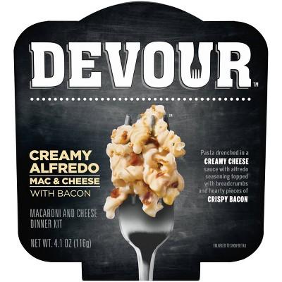 Devour Alfredo Mac & Cheese with Bacon - 4.1oz