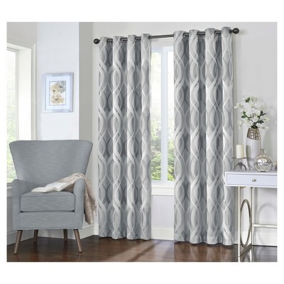 Caprese Grommet Top Blackout Curtain Panel - Eclipse