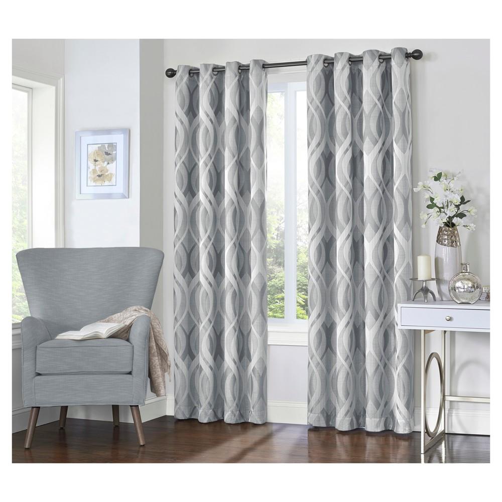 Caprese Blackout Curtain Grey (52