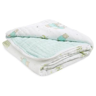 Aden® by Aden + Anais® Muslin Blanket - Teddies