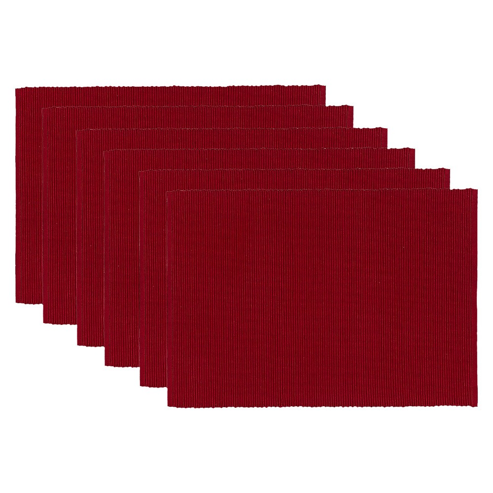 Red Redwood Placemat (Set Of 6) (13