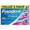 Fixodent Complete Denture Adhesive Cream Original - 2.4oz/3pk - image 2 of 4