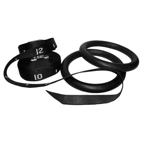 Valor Fitness GRA-2 ABS Gym Rings with Straps - image 1 of 3