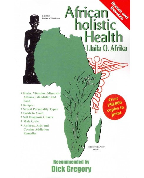 African Holistic Health -  by Llaila O. Afrika (Paperback) - image 1 of 1
