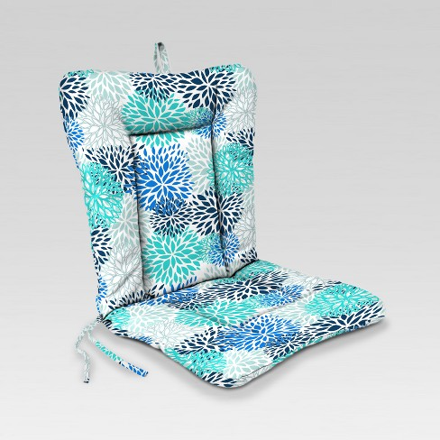 Outdoor Knife Edge Euro Style Dining Chair Cushion Jordan