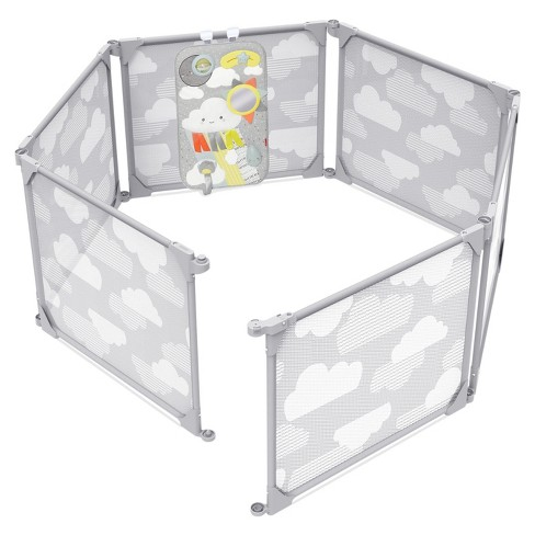 Skip Hop Play Enclosure Expandable Baby Playpen - Gray - image 1 of 4