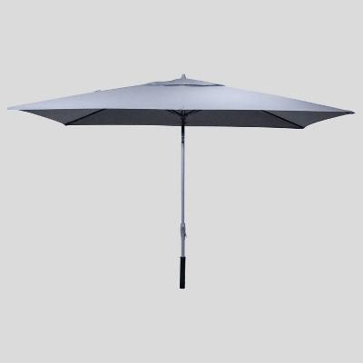 6.5' x 10' Rectangular Patio Umbrella Ash - Ash Pole - Project 62™