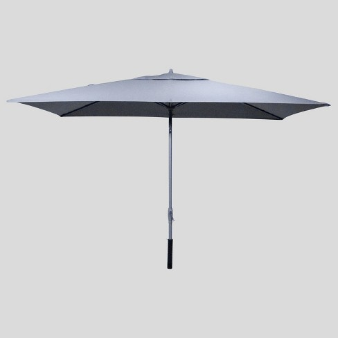 6.5' x 10' Rectangular Patio Umbrella Ash Pole - Project 62™ - image 1 of 3