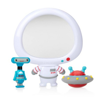 Nuby Mirror Bath Toy Set - Astronaut