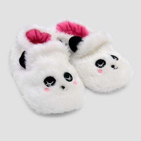 a05e7d56d4b8 Baby Girls  Slide Slippers - Cat   Jack™ White   Target