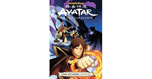 Avatar the Last Airbender 3 : Smoke and Shadow (Paperback) (Gene Luen Yang) - image 1 of 1