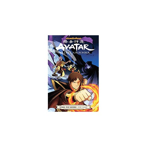 Avatar The Last Airbender 3 Smoke And Shadow Paperback Gene