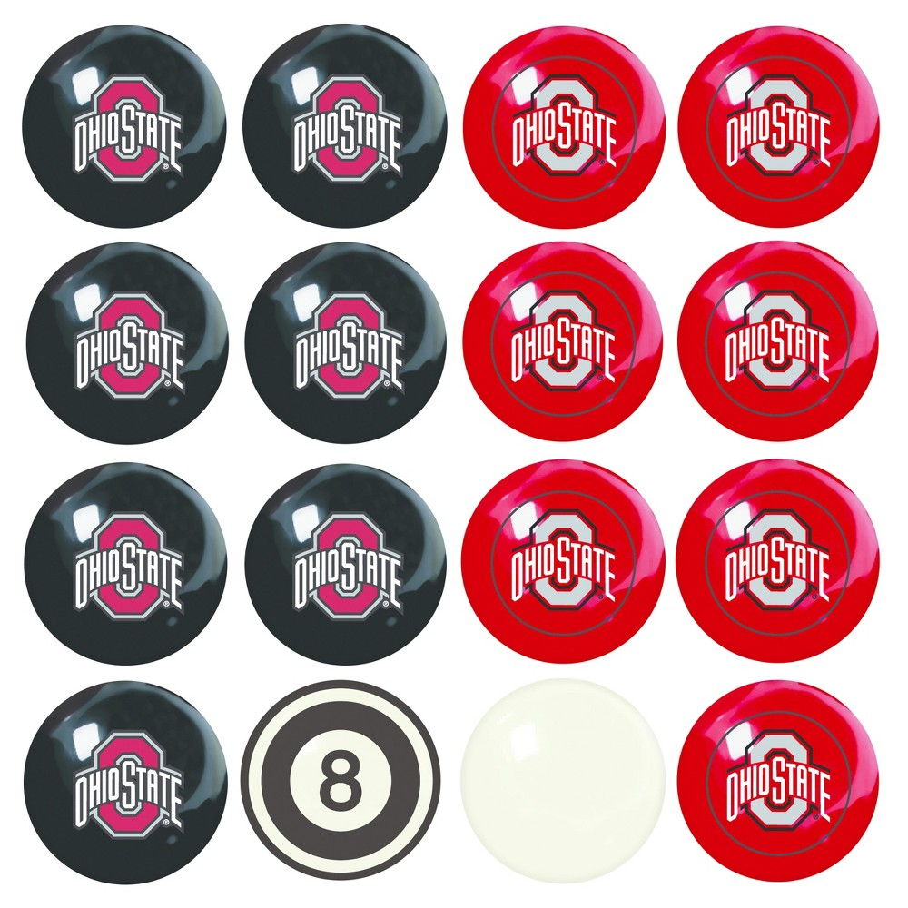 NCAA Imperial Home vs. Away Billiard Ball Set Ohio State Buckeyes