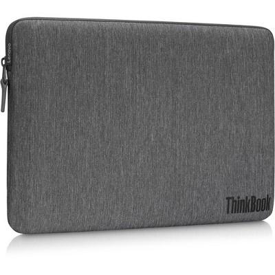 "Lenovo Carrying Case (Sleeve) for 13"" to 14"" Lenovo Notebook - Gray - MicroFiber, Polyester"