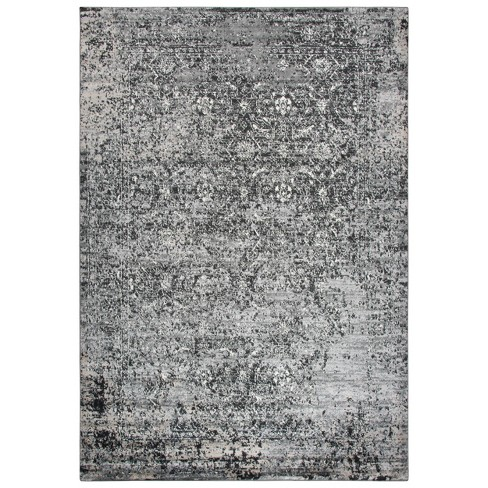 Encore Traditional Over Dye Area Rug Brown - Rizzy Home - image 1 of 4