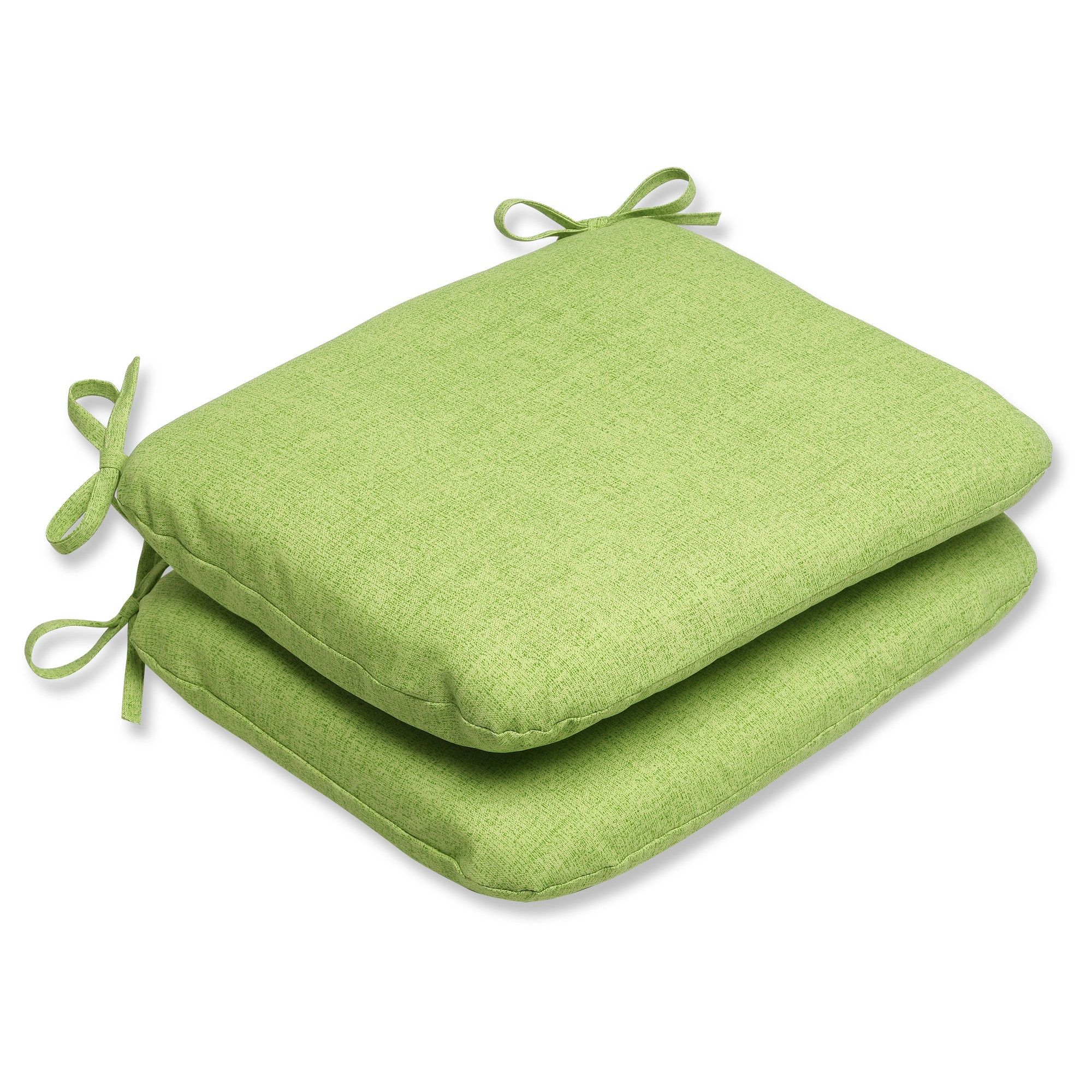 Outdoor 2-Piece Chair Cushion Set - Green