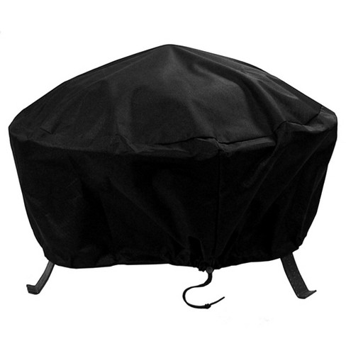 "30"" Round Fire Pit Cover - Black - Sunnydaze Decor - image 1 of 4"