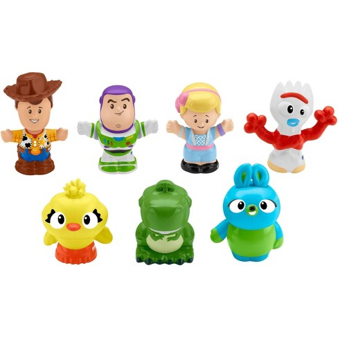 Fisher-Price Little People Disney Pixar Toy Story 4 Friends 7pk - image 1 of 3