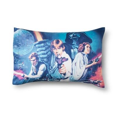 Star Wars® Logo Blue & White Pillow Cases