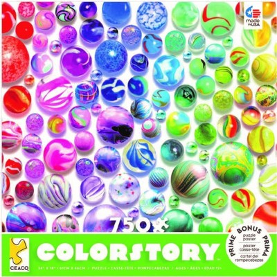 Ceaco Marbles Color Story Jigsaw Puzzle - 750pc