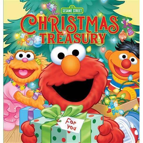 Sesame Street Christmas Treasury - (Hardcover) - image 1 of 1