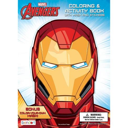 Marvel Avengers Iron Man Coloring Activity Book Bendon Target