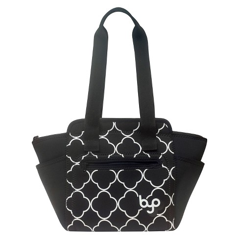 BYO XL Adela Lunch Tote Bag - Black - image 1 of 1