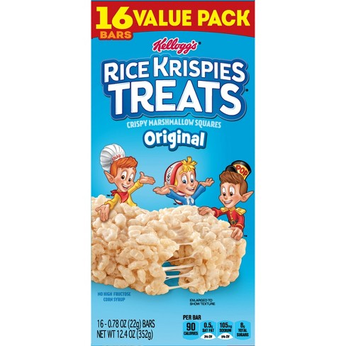Rice Krispies Treats Original Bars - 16ct - Kellogg's - image 1 of 9