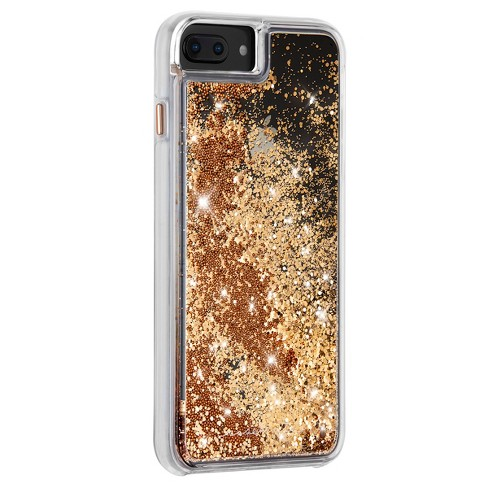 reputable site 9cb47 47909 Case-Mate Apple iPhone 8 Plus/7 Plus/6s Plus/6 Plus Waterfall Case - Gold