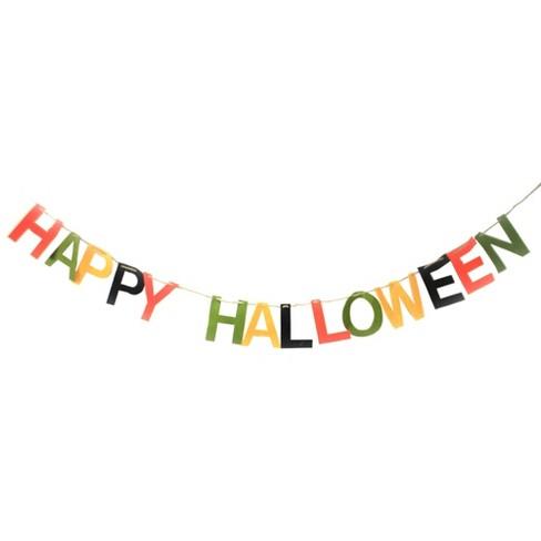 """Halloween 72.0"""" Happy Halloween Garland Banner - image 1 of 3"""